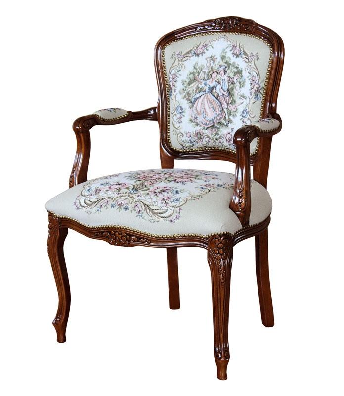 klassischer Sessel Wohnzimmer Laparisienne