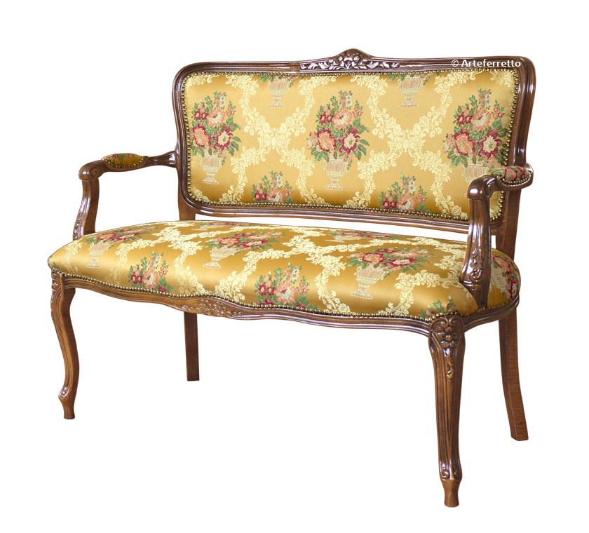 Kleines Sofa klassisch Romeo und Julia