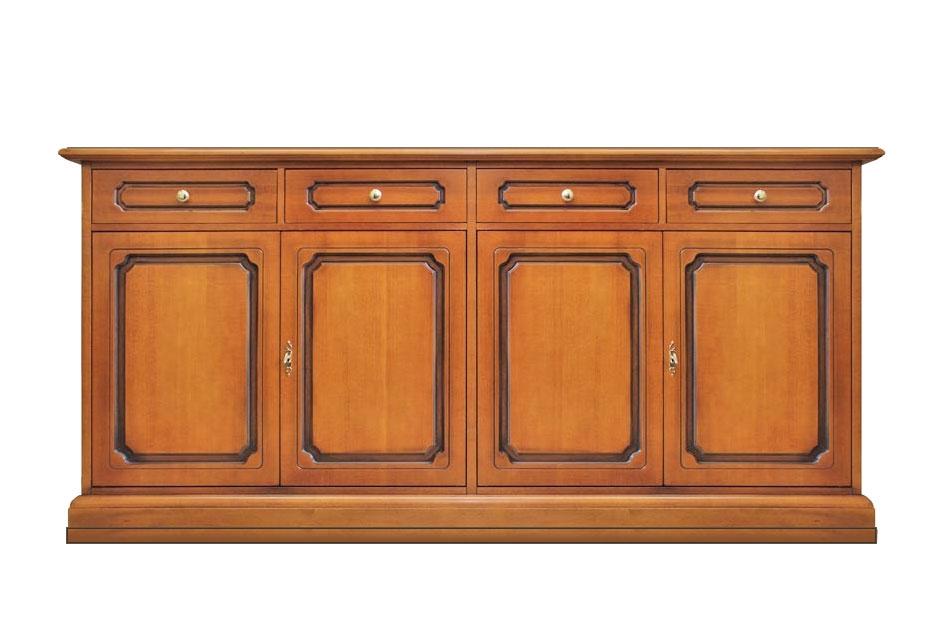 Sideboard 4 Türen 4 Schubladen