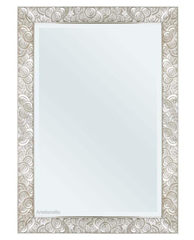 Miroir mural 100x70 à motifs circulaires