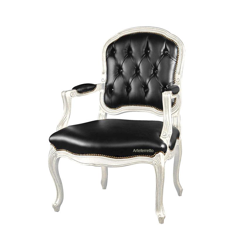 Sessel mit breiter Sitzfläche im Stil Galaxy
