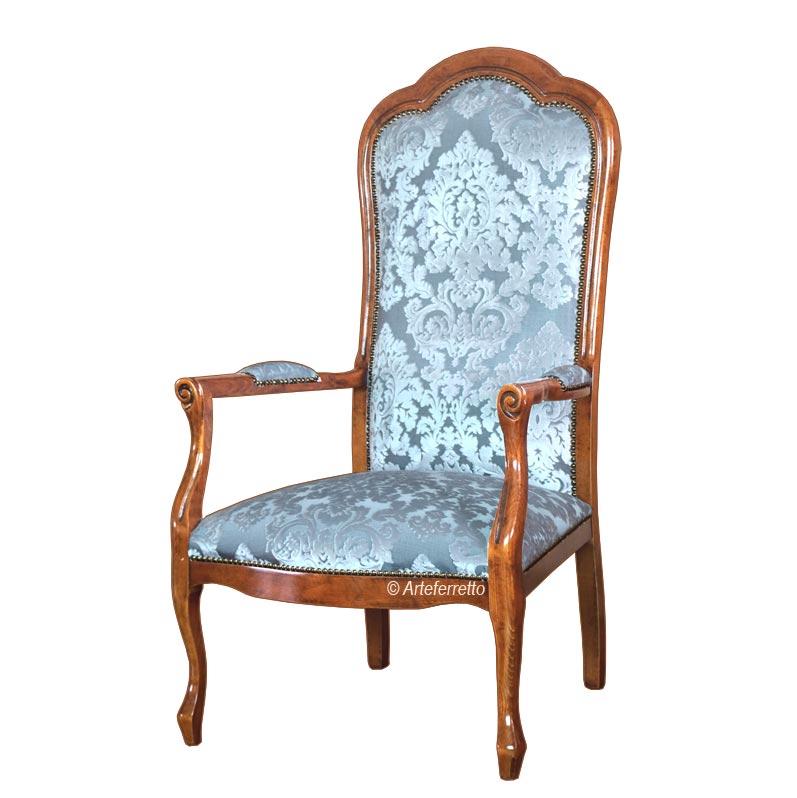 Klassischer Sessel Voltaire elegant