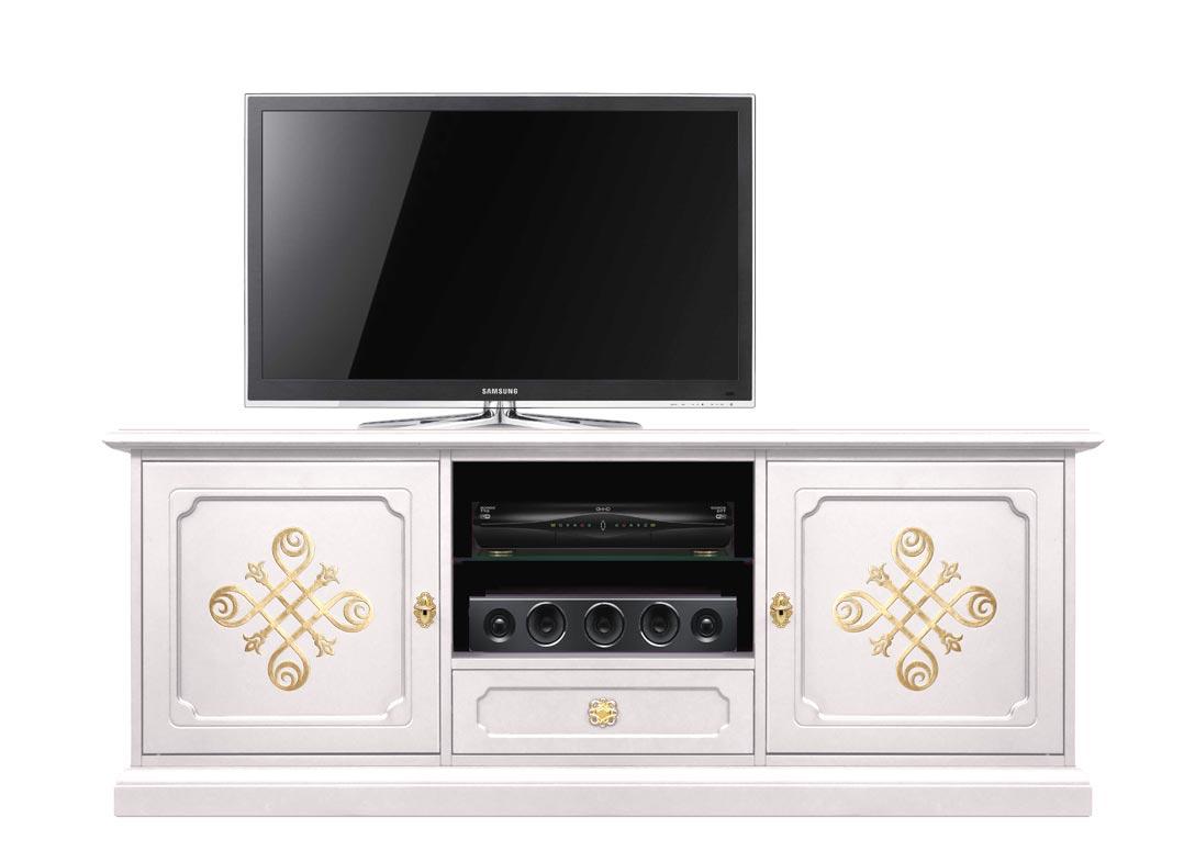 TV Schrank klassisch lackierte Farbe
