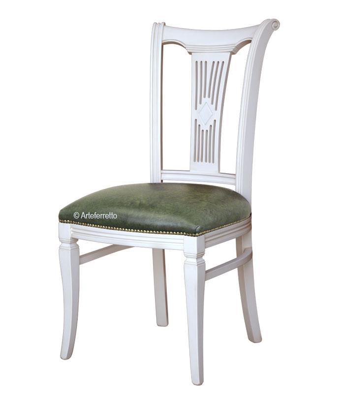 Klassicher Stuhl Lackiert Asseoir-53