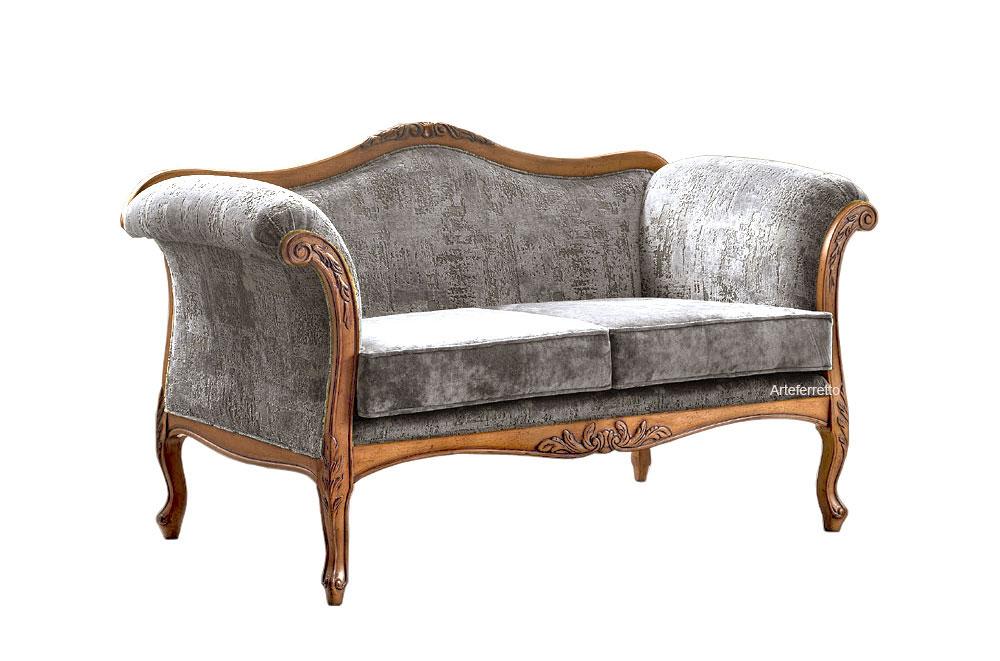 Kleines Sofa klassisch Wohnzimmer Bella Vita
