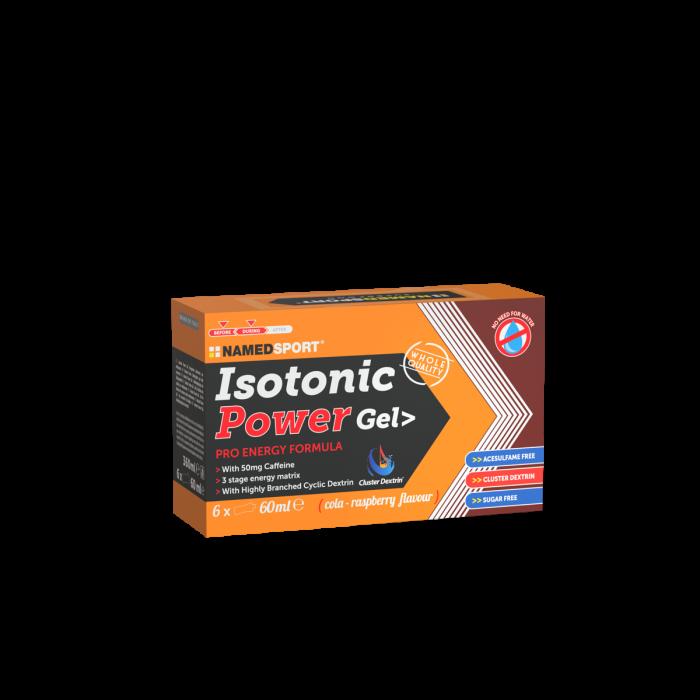NAMEDSPORT BOX ISOTONIC POWER GEL COLA-RASPBERRY - 6GEL