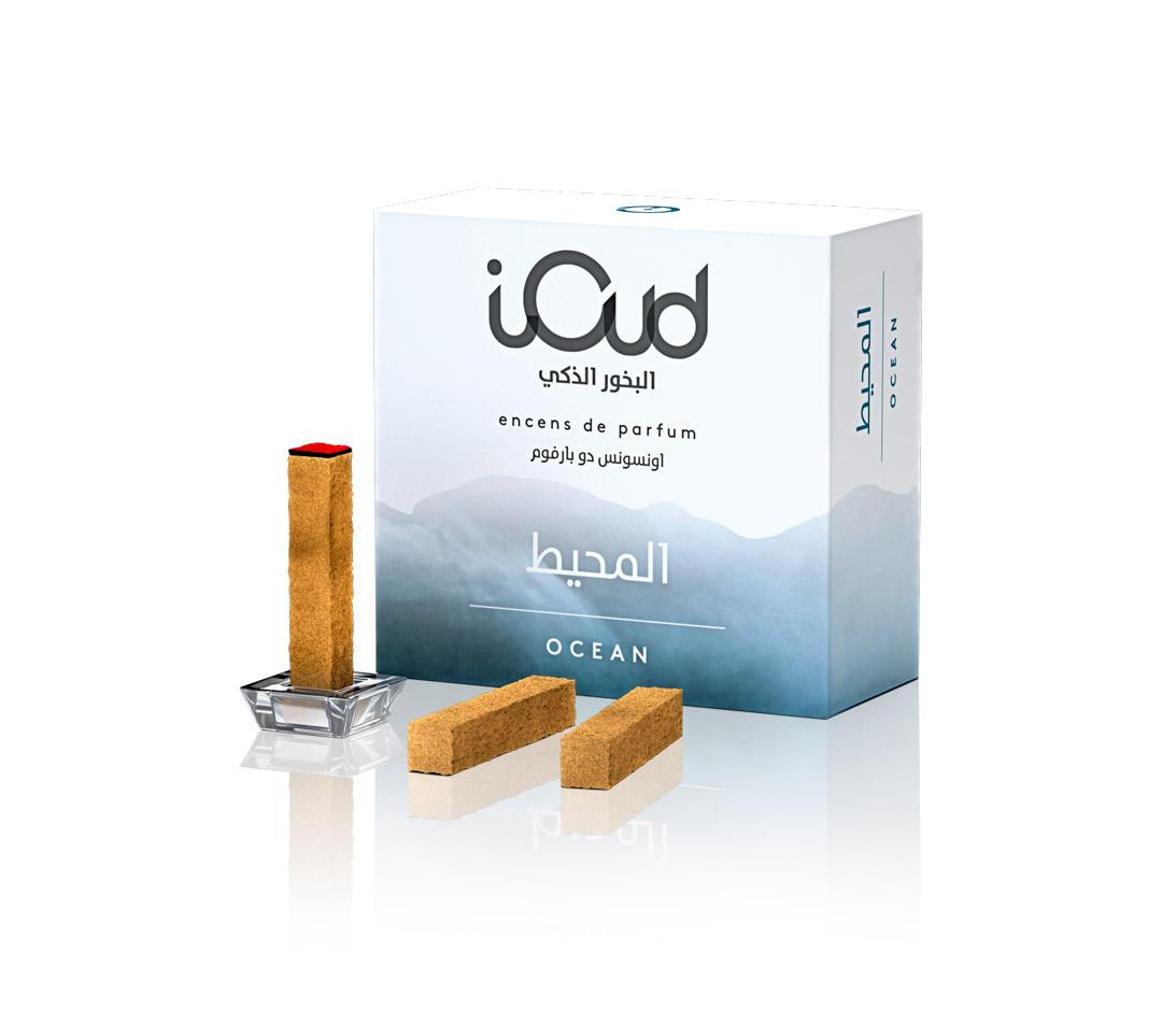Incenso iOud Ocean Confezione 4 Stick Rinfrescante Legno e Muschio
