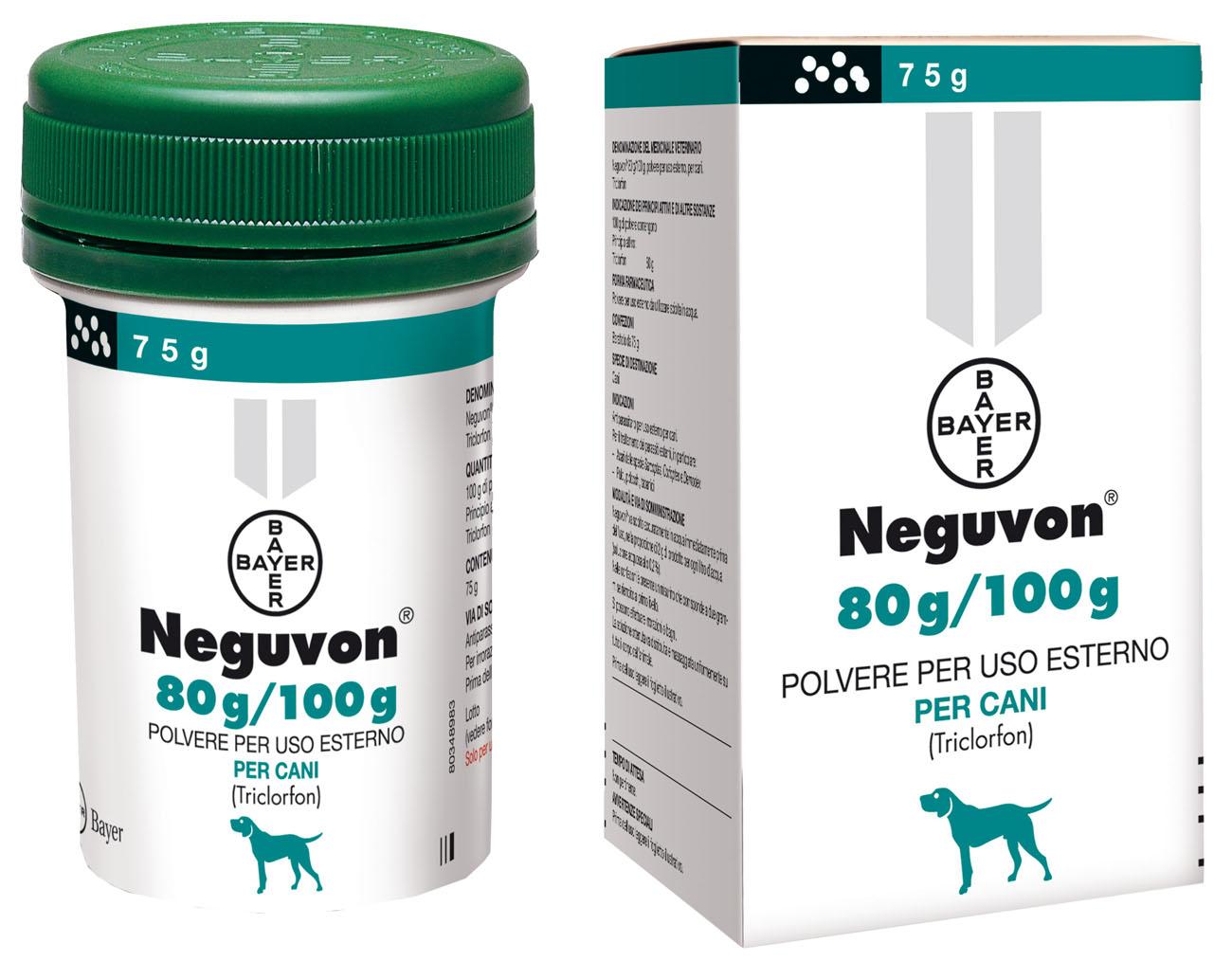 NEGUVON BAYER polvere per uso esterno (cani) antiparassitario.