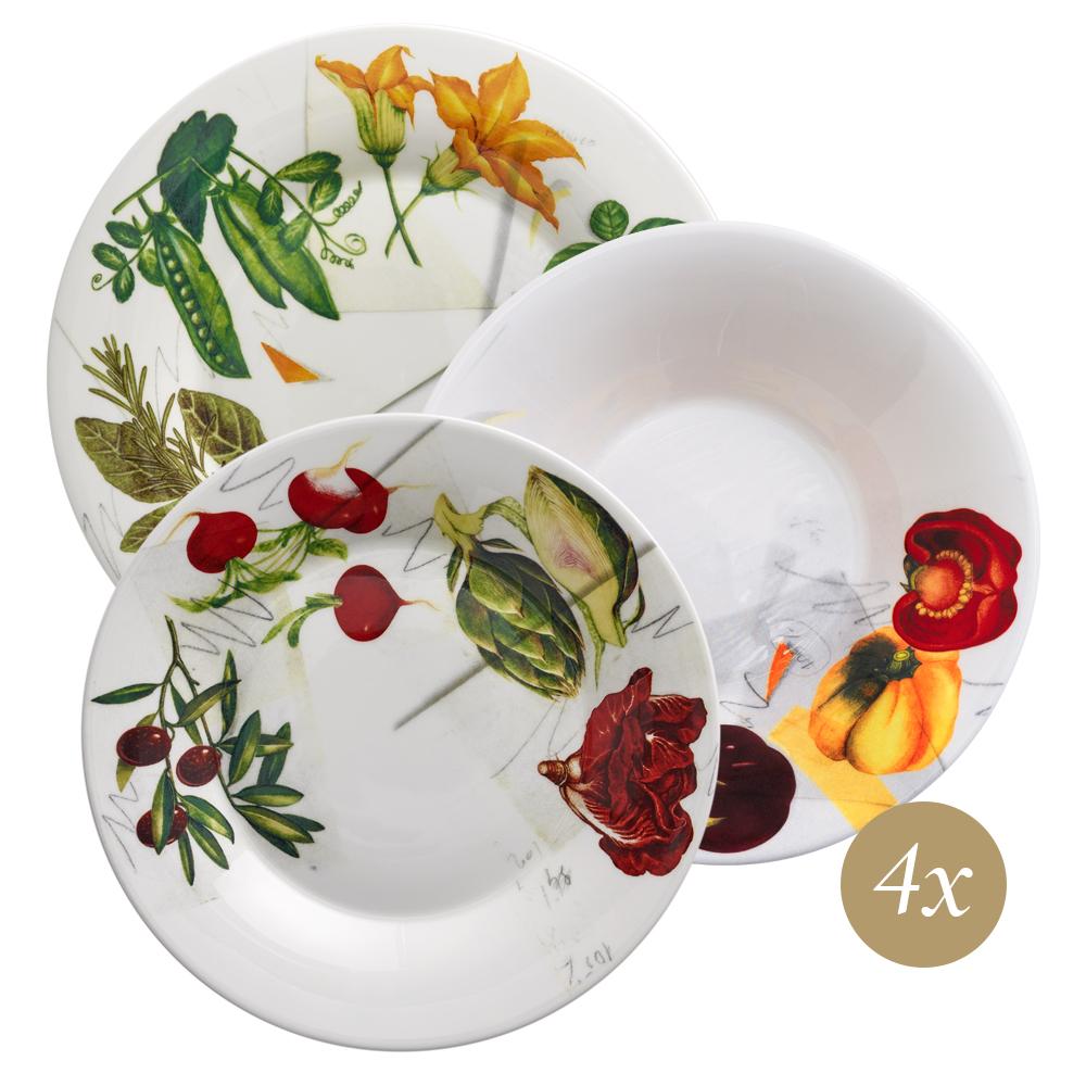 Set 12 pezzi | Vegan | La Cucina Italiana