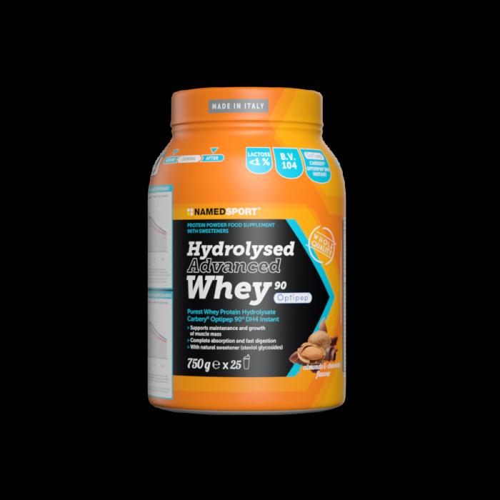 NAMEDSPORT HYDROLYSED ADVANCED WHEY CHOCO-ALMOND - 750G