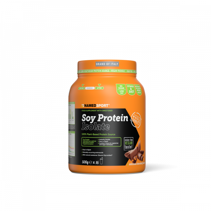 NAMEDSPORT SOY PROTEIN ISOLATE DELICIOUS CHOCOLATE - 500G