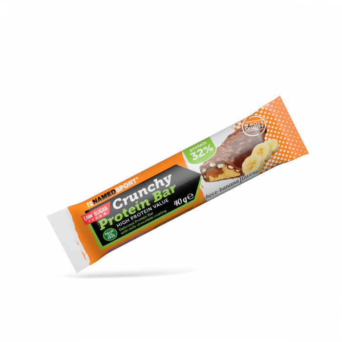 NAMEDSPORT CRUNCHY PROTEIN BAR LOW SUGAR CHOCO-BANANA - 40G
