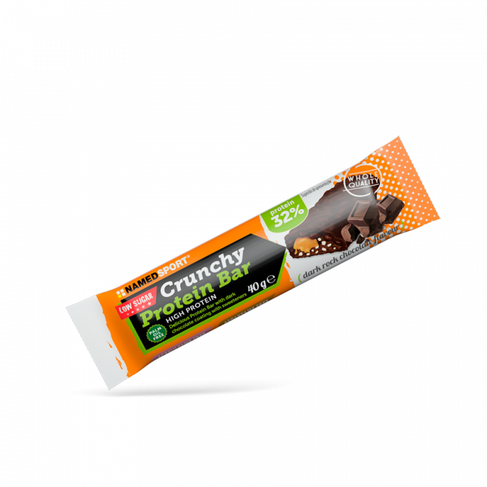 NAMEDSPORT CRUNCHY PROTEINBAR DARK ROCK CHOCOLATE - 40G