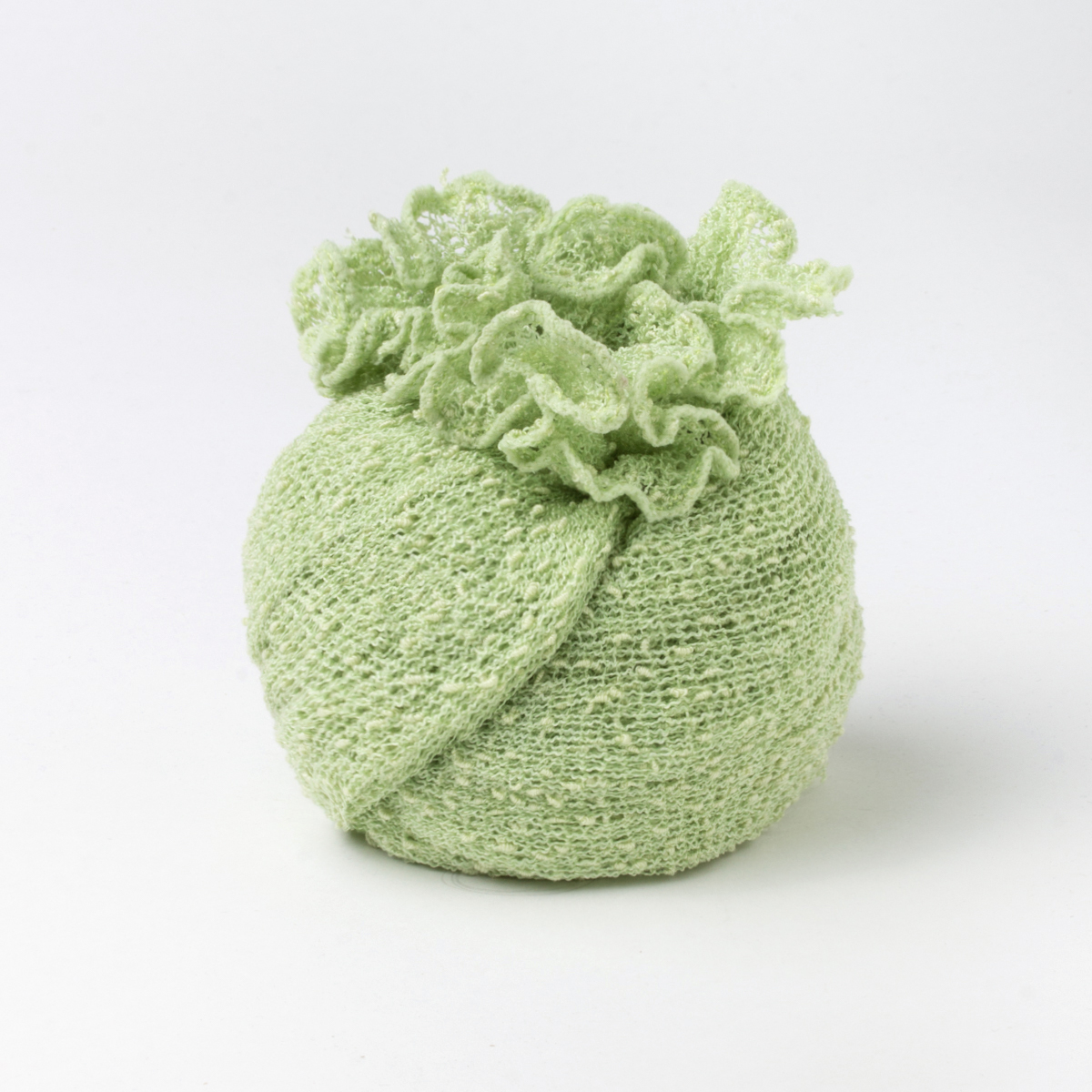Ponchetto Verde Mela   abbigliamento etnico donna