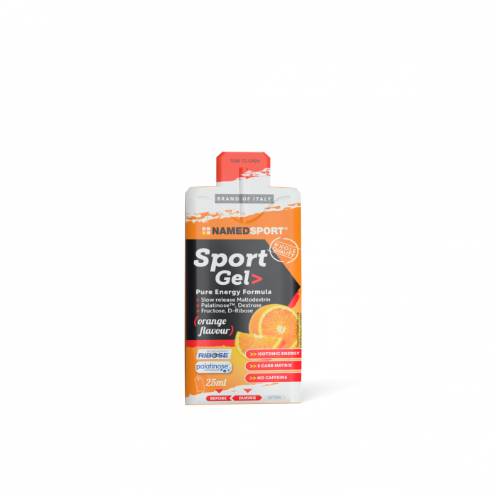 NAMEDSPORT SPORT GEL ORANGE - 25ML