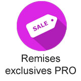 Remises exclusives PRO