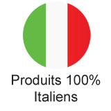 100% fabriqués en Italie