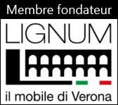 Arteferretto est l'un des membres fondateurs de LIGNUM – IL MOBILE DI VERONA