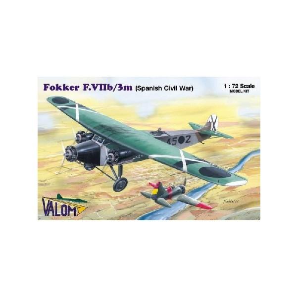 FOKKER F.VIIB/3M (SPANISH CIVIL WAR)