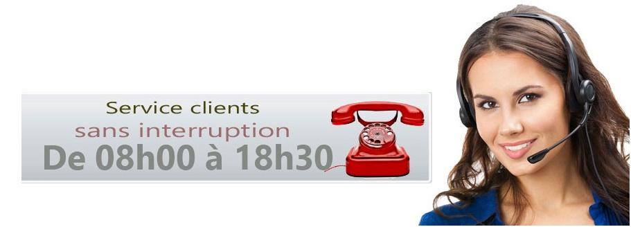service clients plein temps