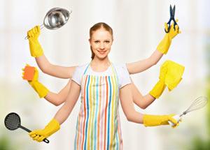 faire le ménage procure du bien