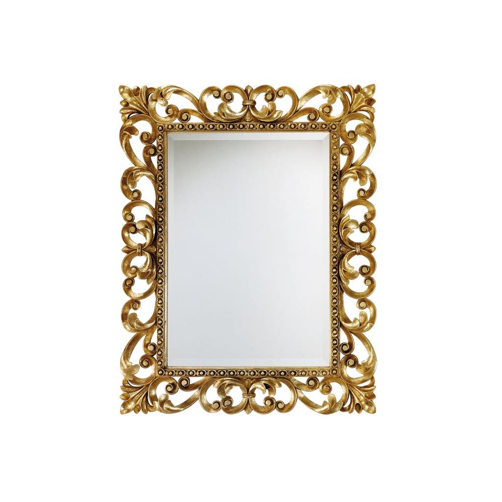 miroir, miroir en bois, miroir classique