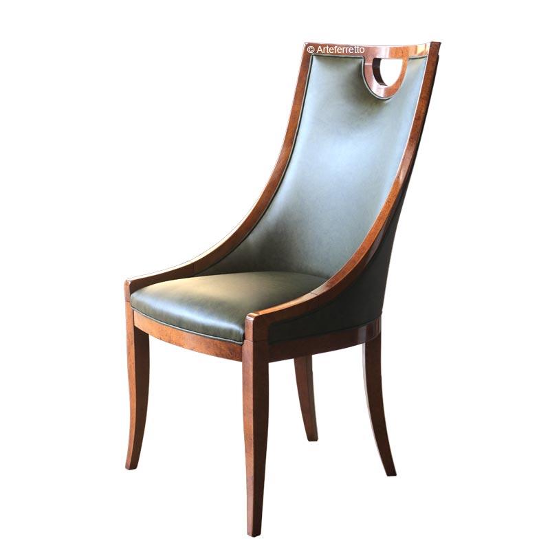 Chaise type crapaud vrai cuir, fauteuil enbois, chaise en bois, chaise crapaud, fauteuil crapaud, chaise dossier haut