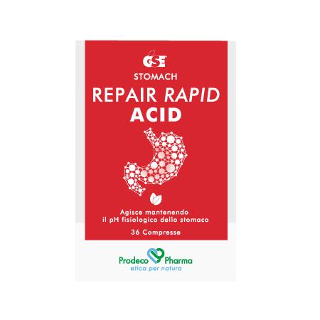 GSE Repair Rapid Acid -  36 compresse