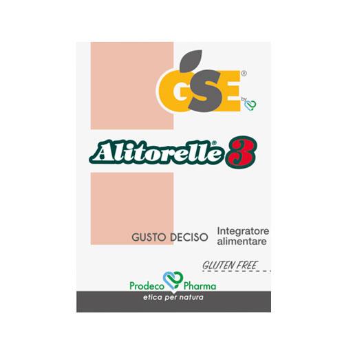GSE Alitorelle 3 - pilloliera da 60 compresse masticabili.