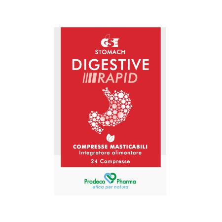 GSE Stomach Digestive Rapid - 24 compresse masticabili