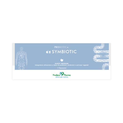 GSE Symbiotic - 7 Flaconcini monodose con tappo dosatore Gusto Tripocal