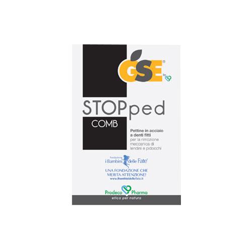 GSE STOPped Comb - un pettine a denti fitti, interamente in acciaio inossidabile