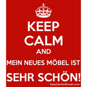keep calm möbel