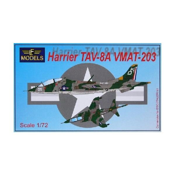 HARRIER TAV-8A VMAT-203 (CONV.SET ESCI/ITAL)