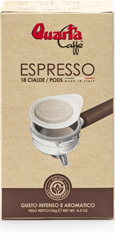 Cialde Espresso Compostabili - Quarta Caffè