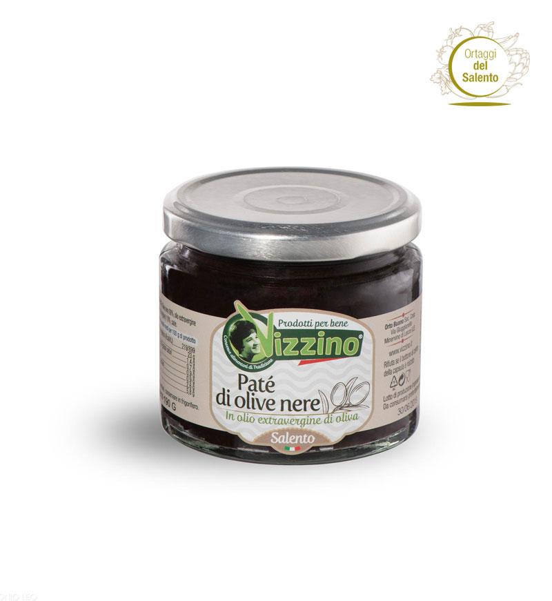 Patè di olive nere Salento - Vizzino