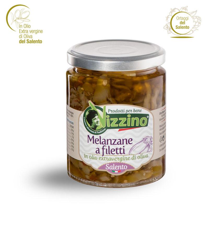 Melanzane a Filetti Salento - Vizzino
