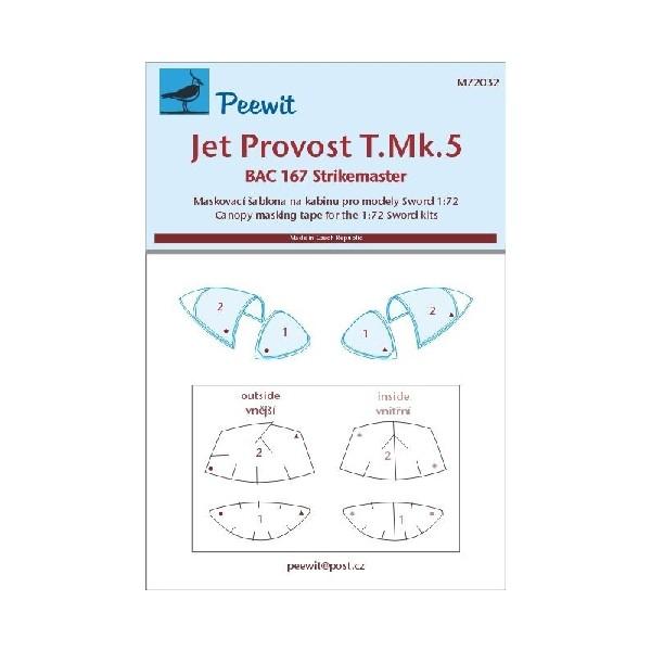 JET PROVOST T.MK.5/BAC 167 STRIKEMASTER