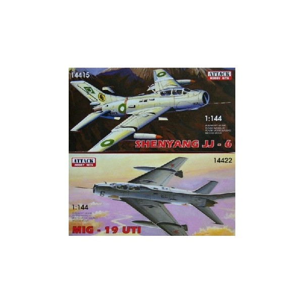 JJ-6 &  MiG-19UTI