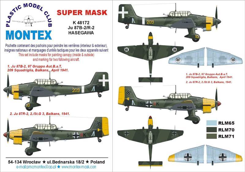 JU 87 B-2/R-2 HASEGAWA