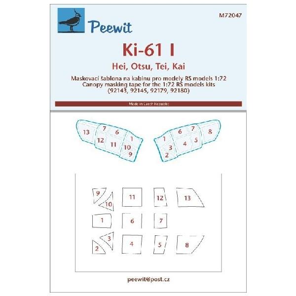 KAWASAKI KI-61-I HEI/OTSU/TEI/KAI