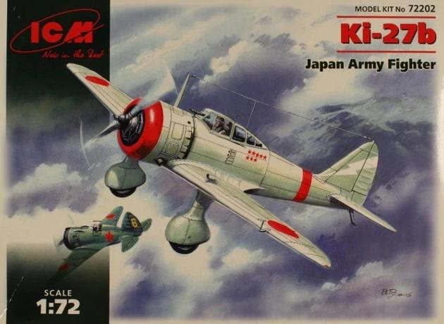KI-27B JAPAN ARMY FIGHTER