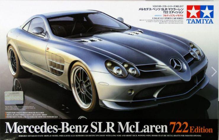MERCEDES BENZ SLR 722