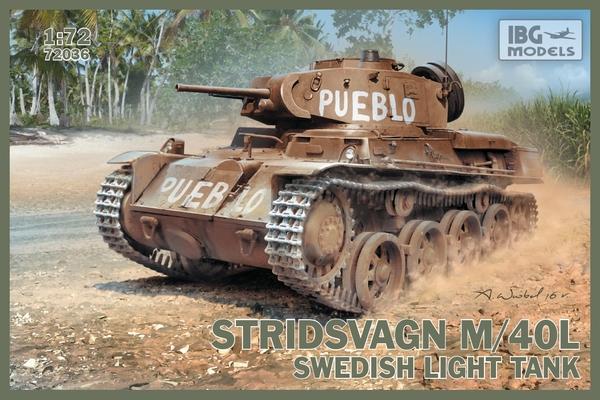 STRIDSVAGN M/40 L