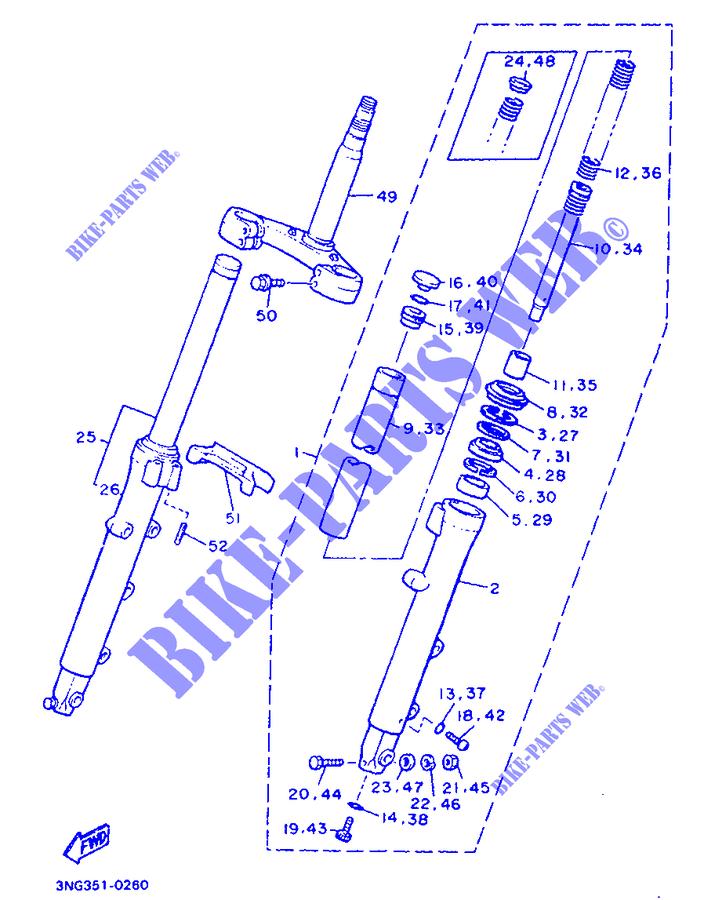 Bullone Yamaha XJ 600/900