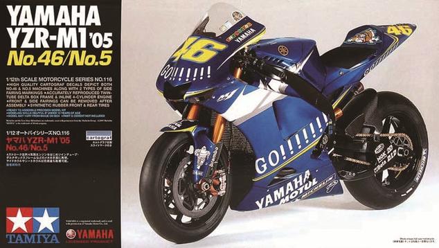 YAMAHA YZR-M1 '05 NO.46/NO.5