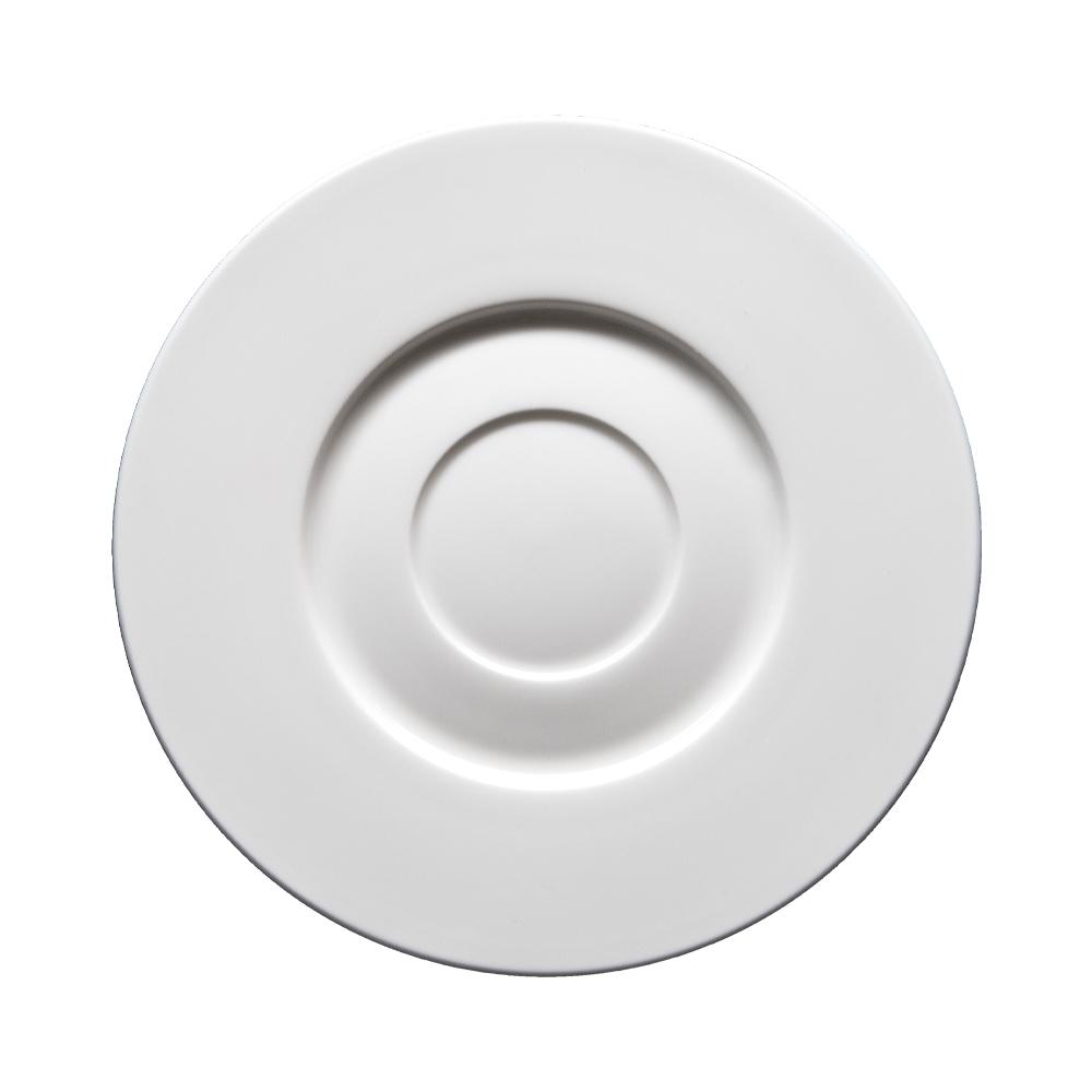 Piattino per tazza brodo cm 17,5   Milano