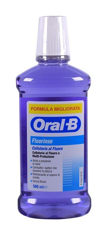 ORAL-B FLUORINSE COLLUTORIO AL FLUORO E MULTIPROTEZIONE -  500ML
