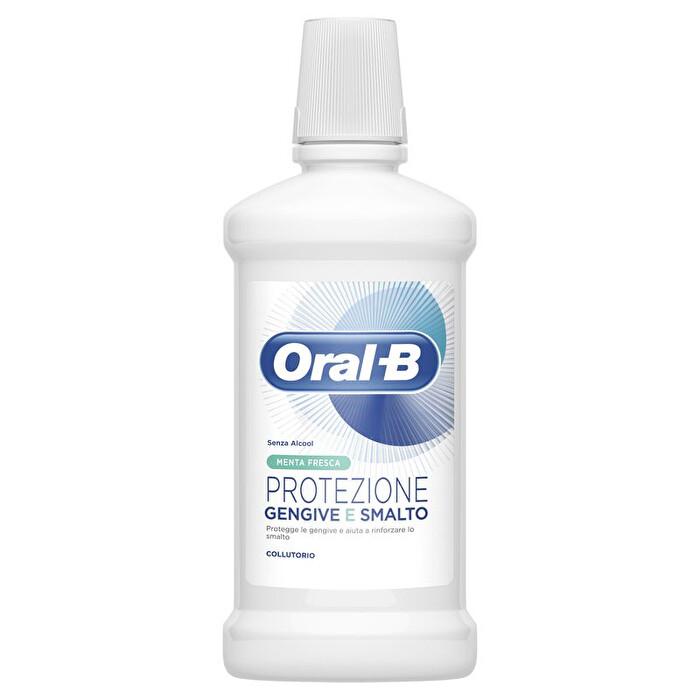 ORAL-B COLLUTORIO PROTEZIONE GENGIVE E SMALTO MENTA FRESCA  - 500ML