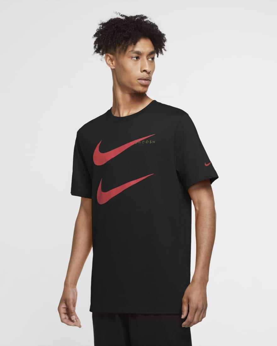 Nike T-shirt Nike Sportswear Swoosh CU7278-011  -9